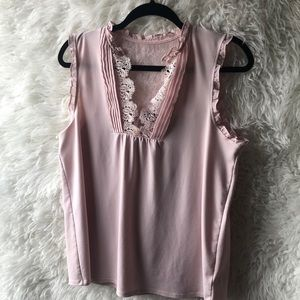Express - Dusty Rose Pink - Size Large